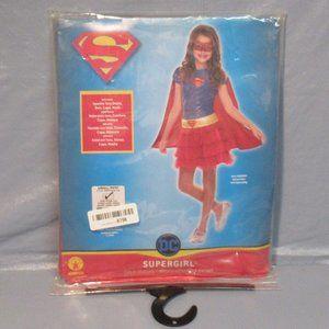 Rubie's Justice League Toddler  Supergirl Tutu Dress NWT Sz Small 4-6